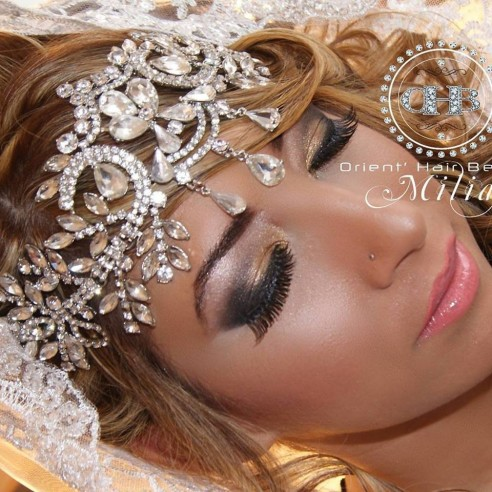 bijou de front argent ou dor - Bijoux De Tete Mariage Oriental