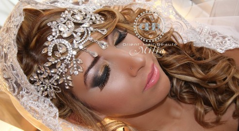 bijou de front argent ou dor - Diademe Mariage Oriental
