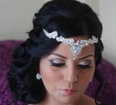 bijou de front dor ou argent - Bijoux De Tete Mariage Oriental
