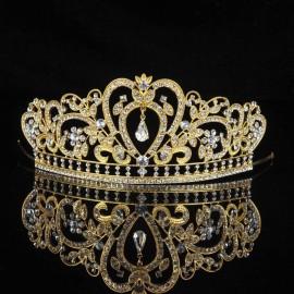 Diadème mariage doré ou argenté