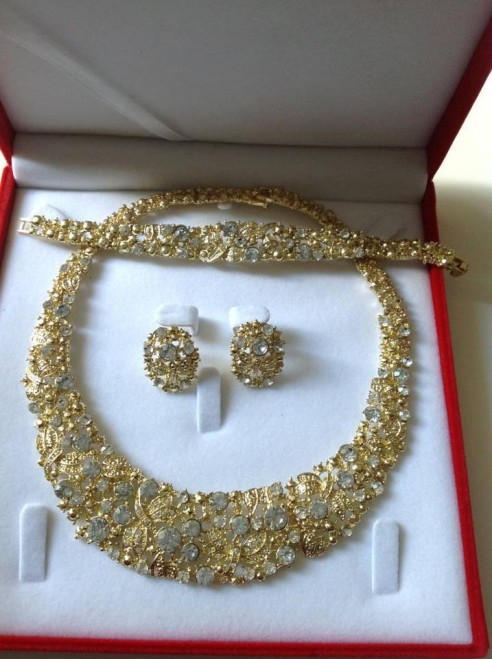 parure en or pour mariage