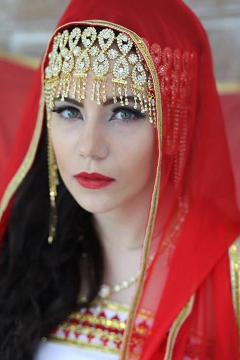"""Bijou de front argenté ou doré """"kabyle"""""""