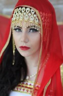 """Bijou de front doré """"Kabyle"""""""