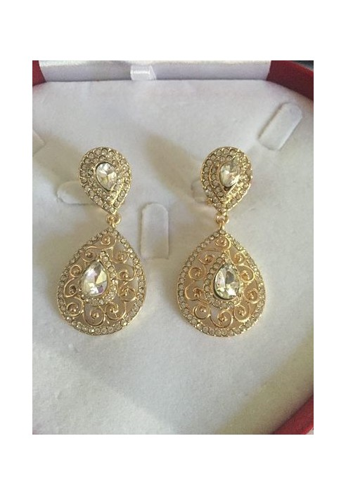 Boucles d'oreilles plaqué or ou argent